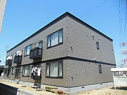 北海道札幌市東区伏古十三条4丁目の賃貸アパートの外観