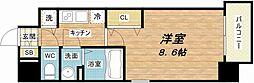 アドバンス大阪ベイパレス[2階]の間取り