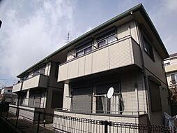 兵庫県宝塚市中筋山手1丁目の賃貸アパートの外観