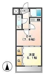 城木館[2階]の間取り