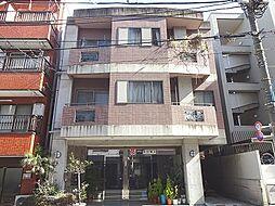 東京都新宿区早稲田鶴巻町の賃貸マンションの外観