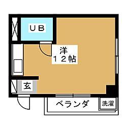 京急仙台プラザ[8階]の間取り