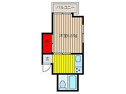 コーポ阿左見[3階]の間取り