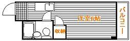 埼玉県入間市東藤沢7丁目の賃貸マンションの間取り