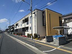 大阪府高槻市城南町2丁目の賃貸アパートの外観