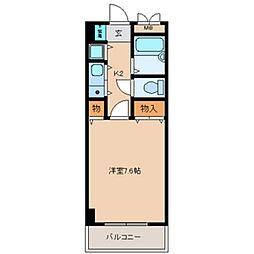 サンモール[10階]の間取り