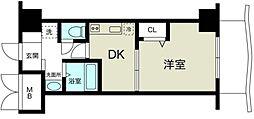 ノルデンハイム新大阪II[3階]の間取り