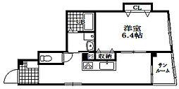 丸山ビル[4階]の間取り