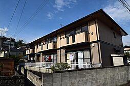 群馬県高崎市片岡町3の賃貸アパートの外観