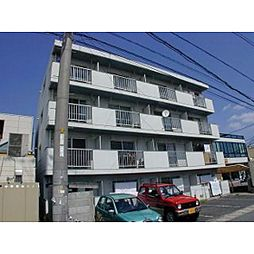 岡山県岡山市北区下中野の賃貸マンションの外観