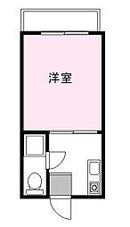 DH第2ビル[4階]の間取り