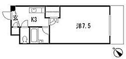 Melrose壱番館[3階]の間取り