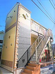 神奈川県横浜市金沢区富岡東6の賃貸アパートの外観