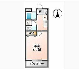 マンション大洋II[C-1号室]の間取り