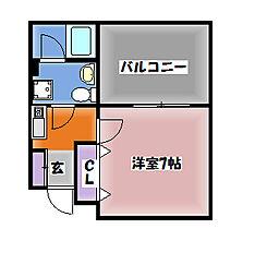 C−ARK神戸西[3階]の間取り