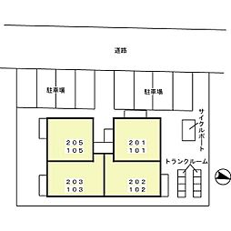 T'レボリューション[105号室]の外観