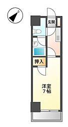 芳野アミティ[4階]の間取り