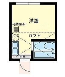 ユナイト蒔田ジェリー・アリソン[1階]の間取り