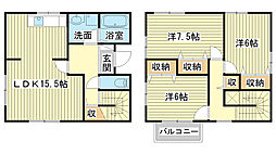 [一戸建] 兵庫県姫路市辻井6丁目 の賃貸【/】の間取り
