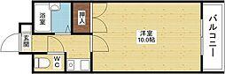 コウジィーコート菅原[4階]の間取り