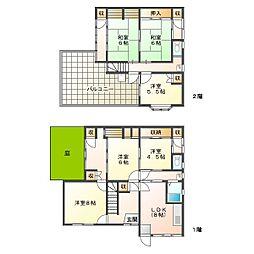 [一戸建] 兵庫県神戸市垂水区城が山4丁目 の賃貸【/】の間取り