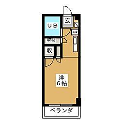 BETTER R 03[2階]の間取り