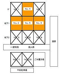 五橋駅 1.1万円