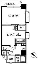 マハール南大塚[1階]の間取り