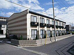 東京都足立区花畑8丁目の賃貸アパートの外観