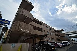 スカイハイツA棟[2階]の外観