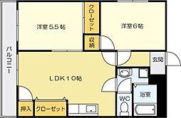 18ビル[8階]の間取り