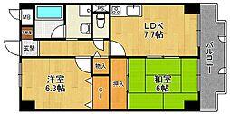 ホワイトボックス Part2[4階]の間取り