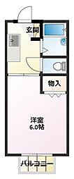 ファレ・安田[2階]の間取り