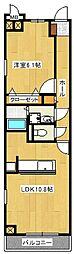 アクアパレス[2階]の間取り