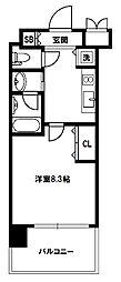 スプランディッド新大阪III[6階]の間取り