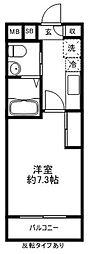 アーバンコート仙川[3階]の間取り