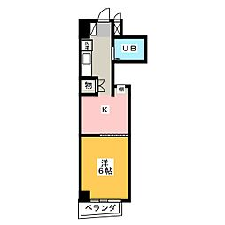 PROXY SQUARE本郷[2階]の間取り