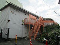 東京都大田区山王1丁目の賃貸アパートの外観