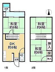 西向日駅 800万円