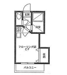 ベルメゾン井土ヶ谷[1階]の間取り