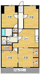 戸田第2ビル[2階]の間取り