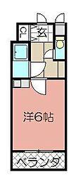 シャルム小倉中津口[603号室]の間取り