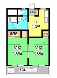 タイホーマンション[3階]の間取り