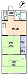 [一戸建] 千葉県千葉市花見川区柏井町 の賃貸【/】の間取り