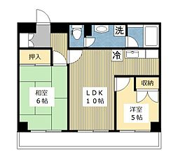 アーバンライフ522[5階]の間取り