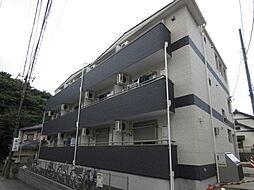 千葉県習志野市津田沼5の賃貸アパートの外観