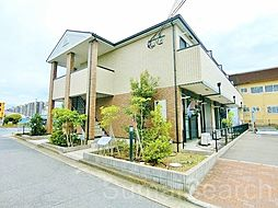 大阪府堺市西区浜寺元町6丁の賃貸アパートの外観