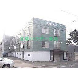 北海道札幌市東区北二十条東1丁目の賃貸アパートの外観