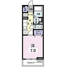 メゾン・プリムローズ[2階]の間取り