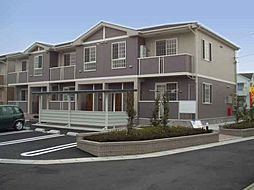 徳島県板野郡藍住町乙瀬字出来地の賃貸アパートの外観